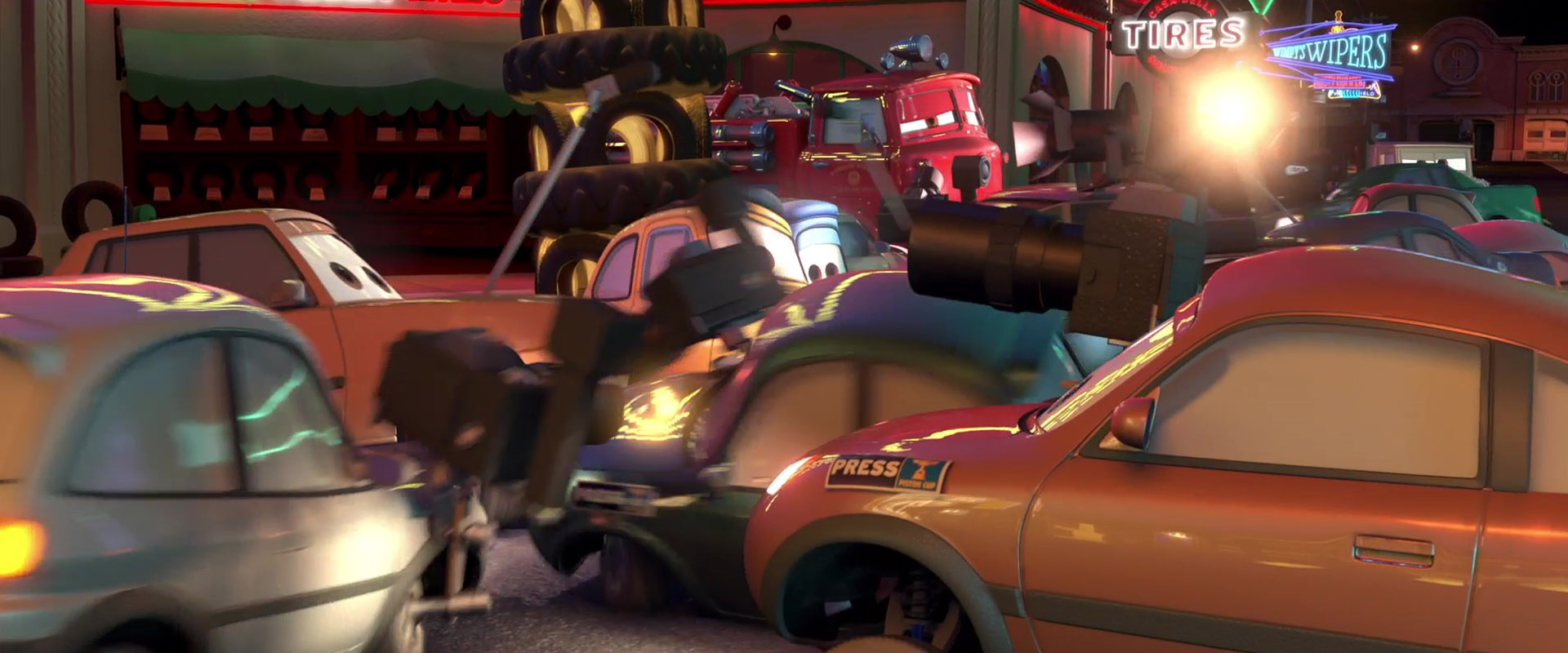hooman personnage character pixar disney cars