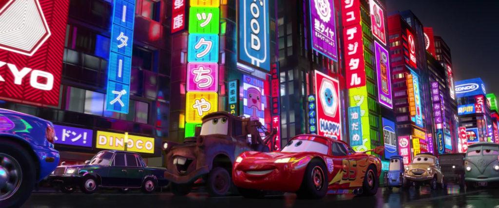 ito san personnage character pixar disney cars 2
