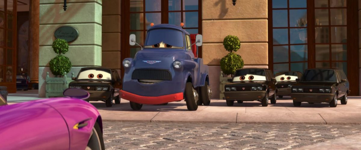 ivan personnage character cars disney pixar