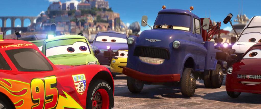 ivan  personnage character pixar disney cars 2