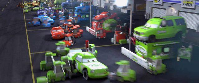 james cleanair personnage character cars disney pixar