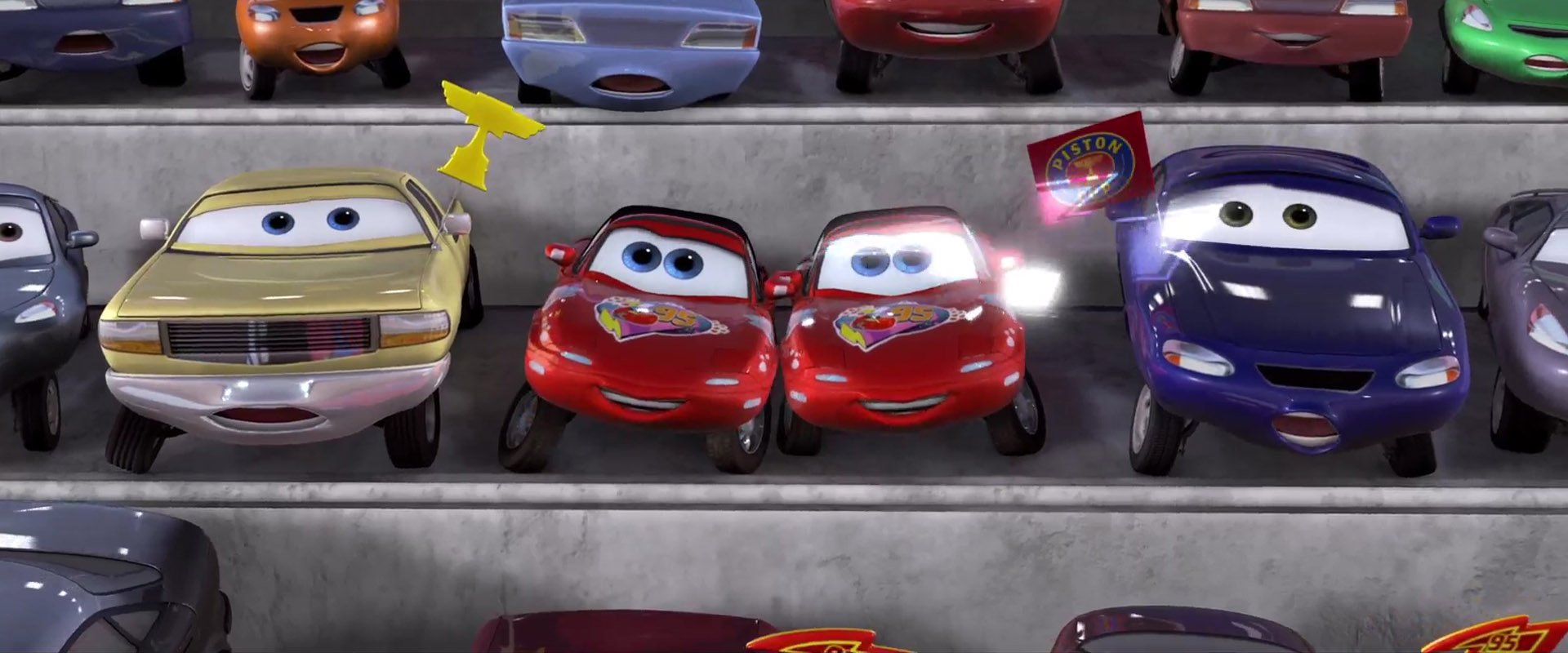 jay w personnage character pixar disney cars