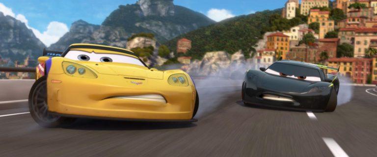 """Jeff Gorvette, personnage dans """"Cars 2""""."""