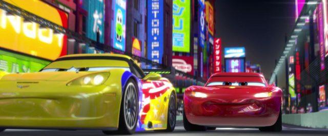 jeff gorvette personnage character cars disney pixar