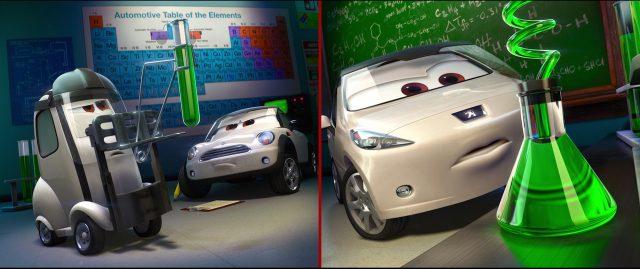 jessica giampetrol  personnage character cars disney pixar