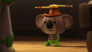 koala kopter   personnage character pixar disney toy story toons mini buzz small fry