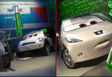 lee race personnage character pixar disney cars 2