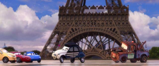 louis larue personnage character cars disney pixar