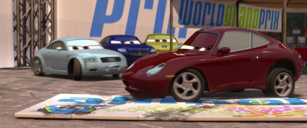 magen carrar personnage character pixar disney cars 2