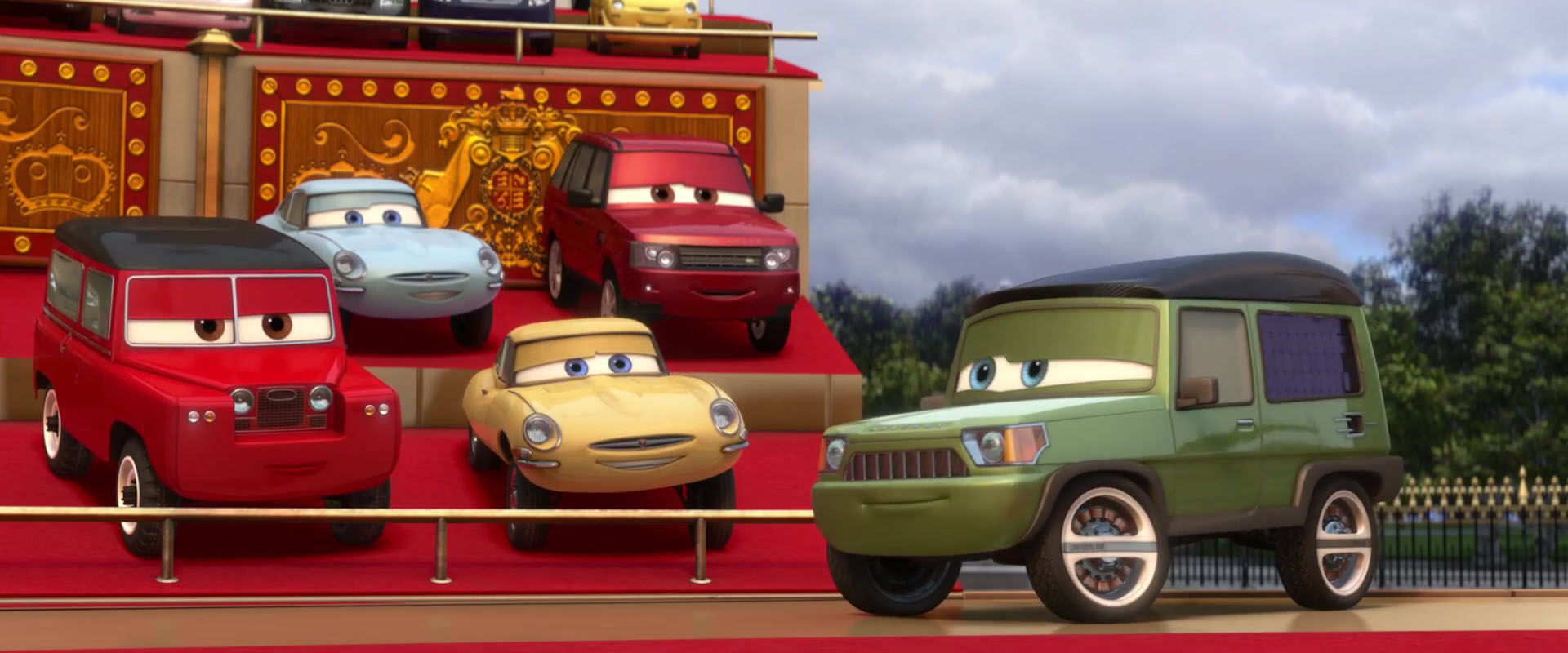 maurice wheelks personnage character pixar disney cars 2