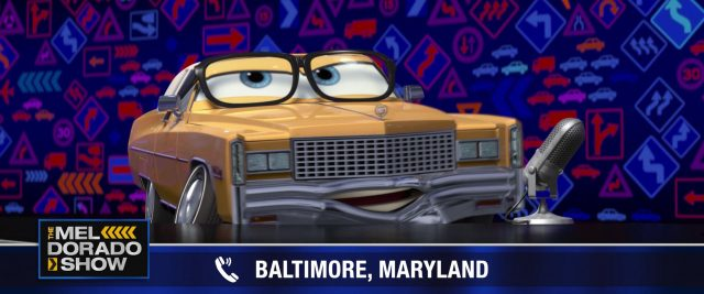 mel dorado personnage character cars disney pixar