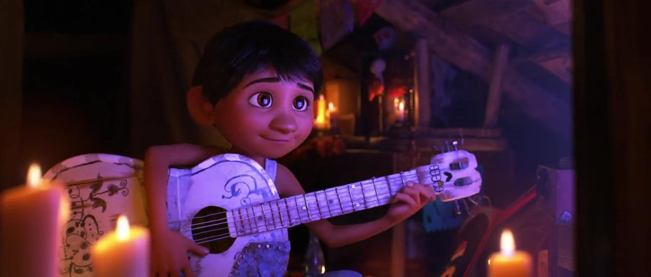 miguel rivera personnage character pixar disney coco