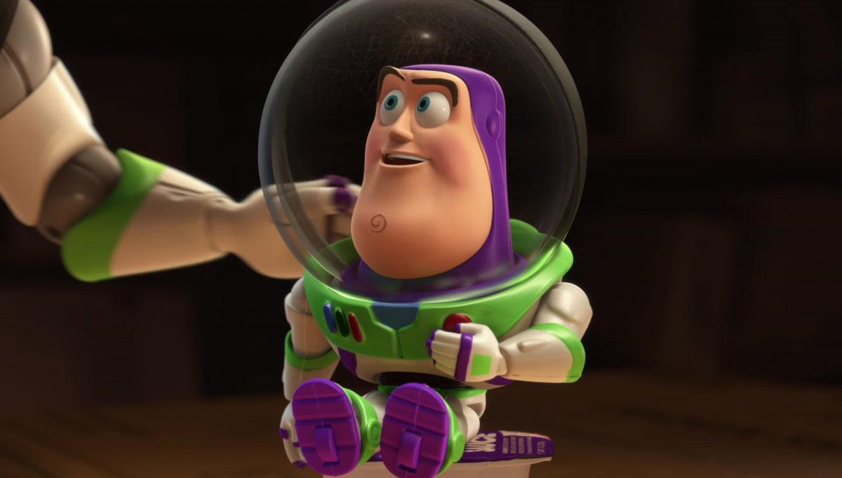 mini buzz personnage character toy story disney pixar