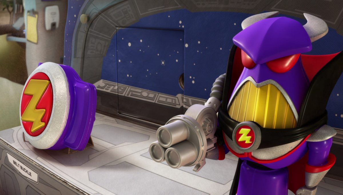 mini zurg personnage character toy story disney pixar