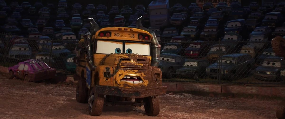 miss fritter personnage character cars disney pixar