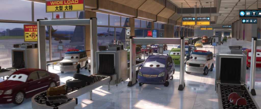 murakarmi personnage character pixar disney cars 2