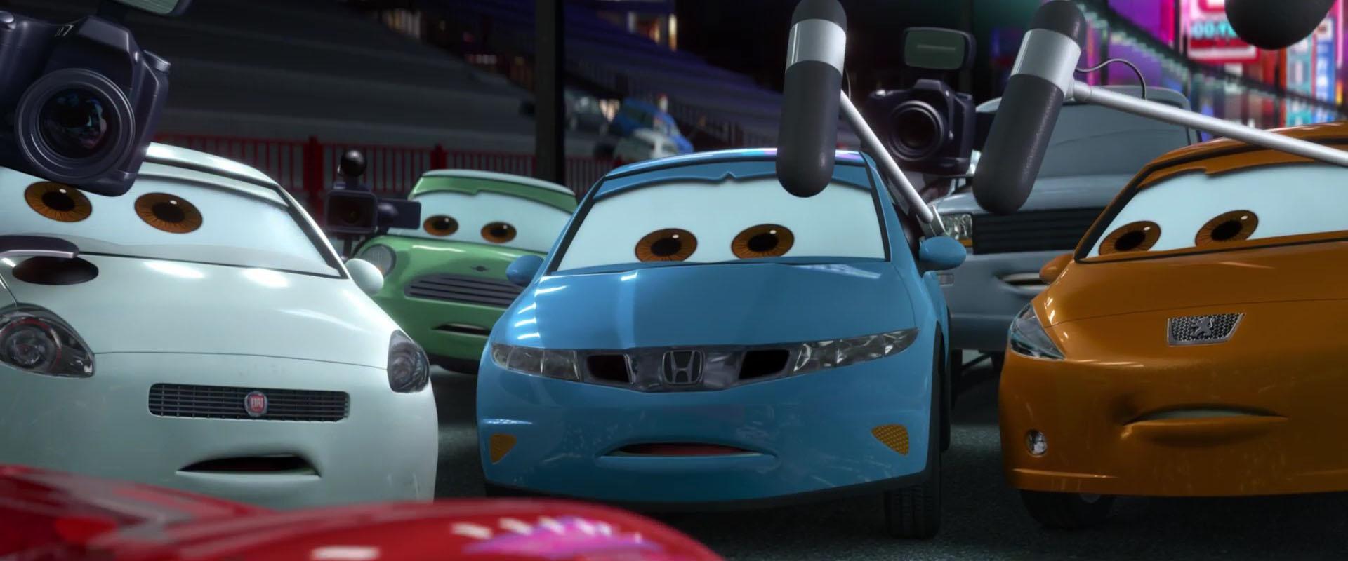nick cartone personnage character pixar disney cars 2