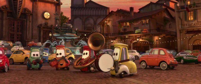 """Les musiciens, personnages dans """"Cars 2""""."""