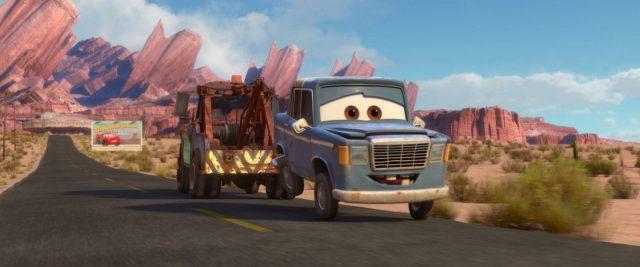 otis personnage character cars disney pixar