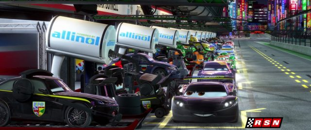 otto bonn personnage character cars disney pixar