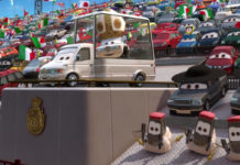 pape pinion iv pope personnage character pixar disney cars 2
