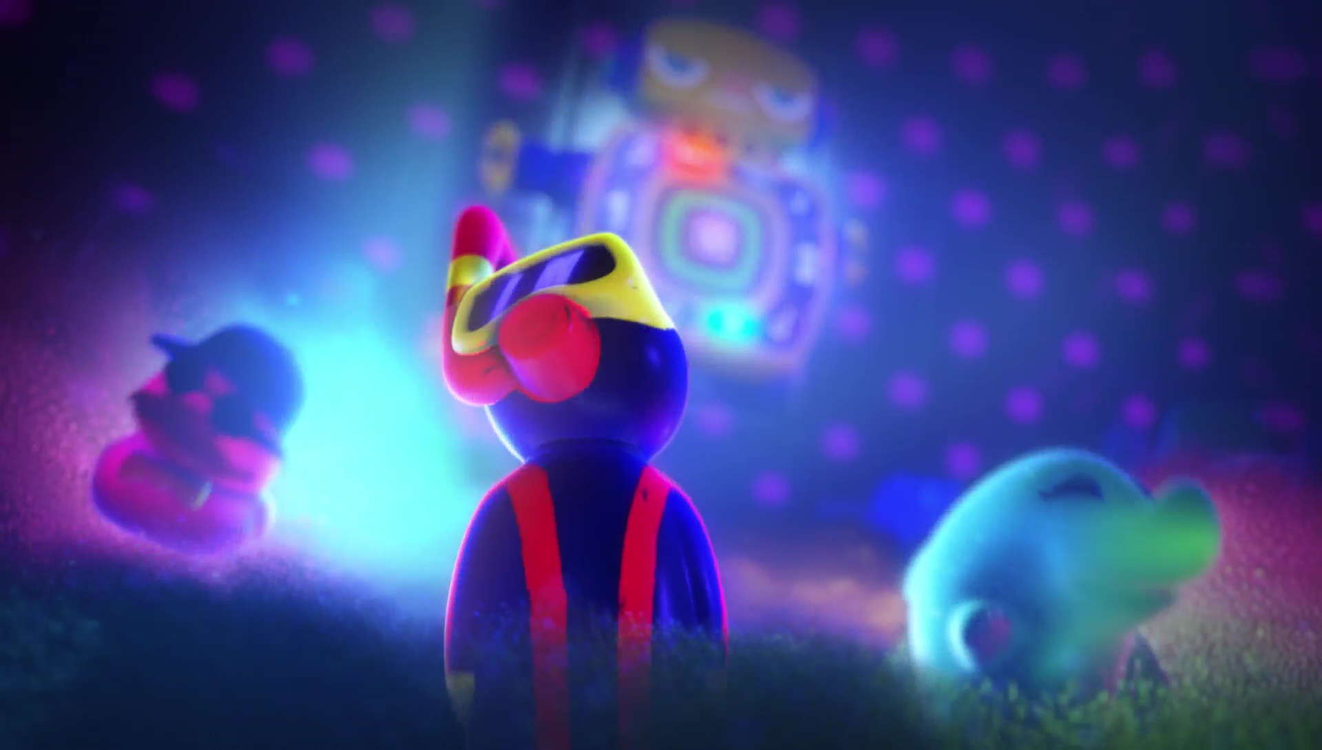 plongeur plunger personnage character pixar disney toy story toons rex roi fête partysaurus