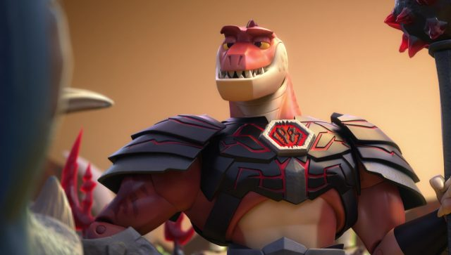 reptillus maximus hors temps time forgot personnage character toy story disney pixar