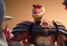 reptillus maximus personnage character pixar disney toy story hors temps time forgot