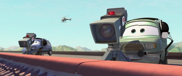 ron hover personnage character cars disney pixar
