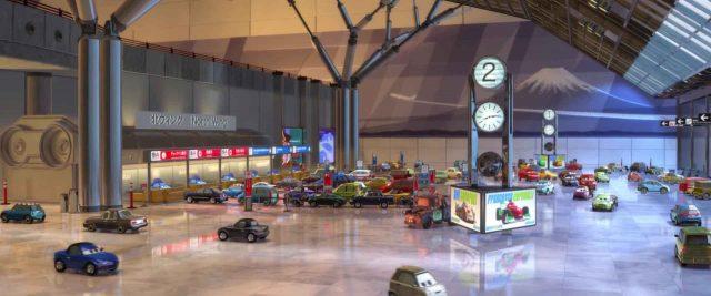 ruka personnage character cars disney pixar