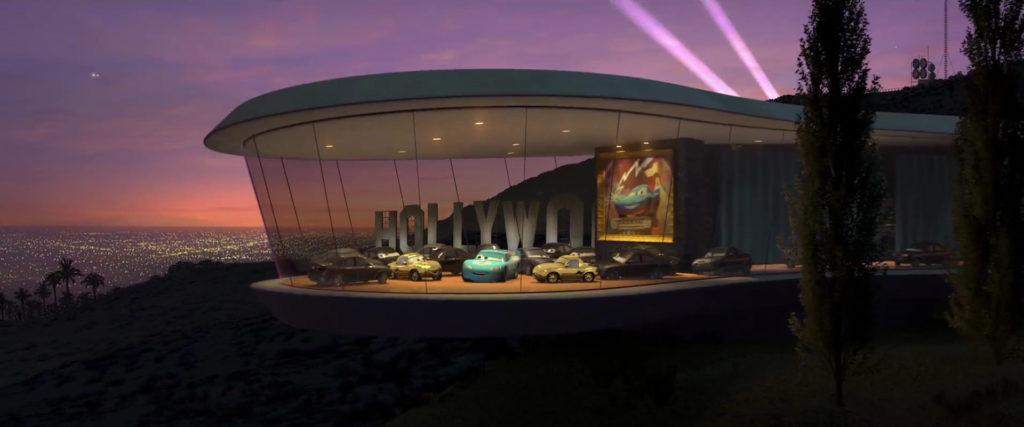 sedanya oskanian  personnage character pixar disney cars