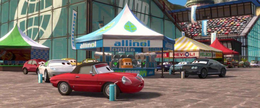 shawn krash  personnage character pixar disney cars 2
