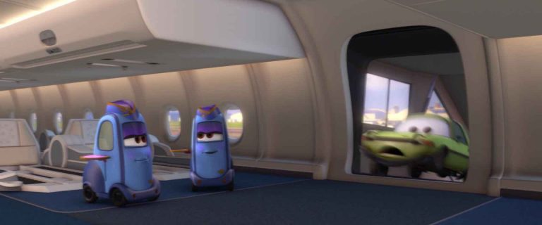 "Shelley Shift, personnage dans ""Cars 2""."