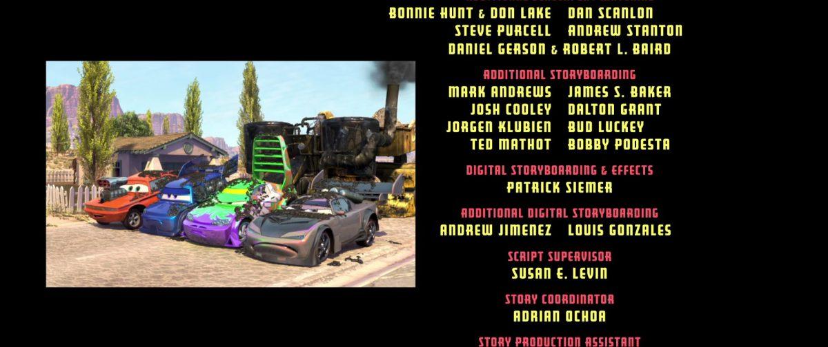 spoiler personnage character cars disney pixar