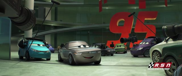 sterling personnage character cars disney pixar