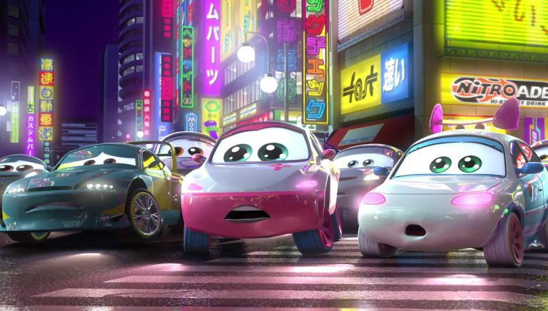 "Suki, personnage dans ""Cars Toon : Tokyo Martin""."
