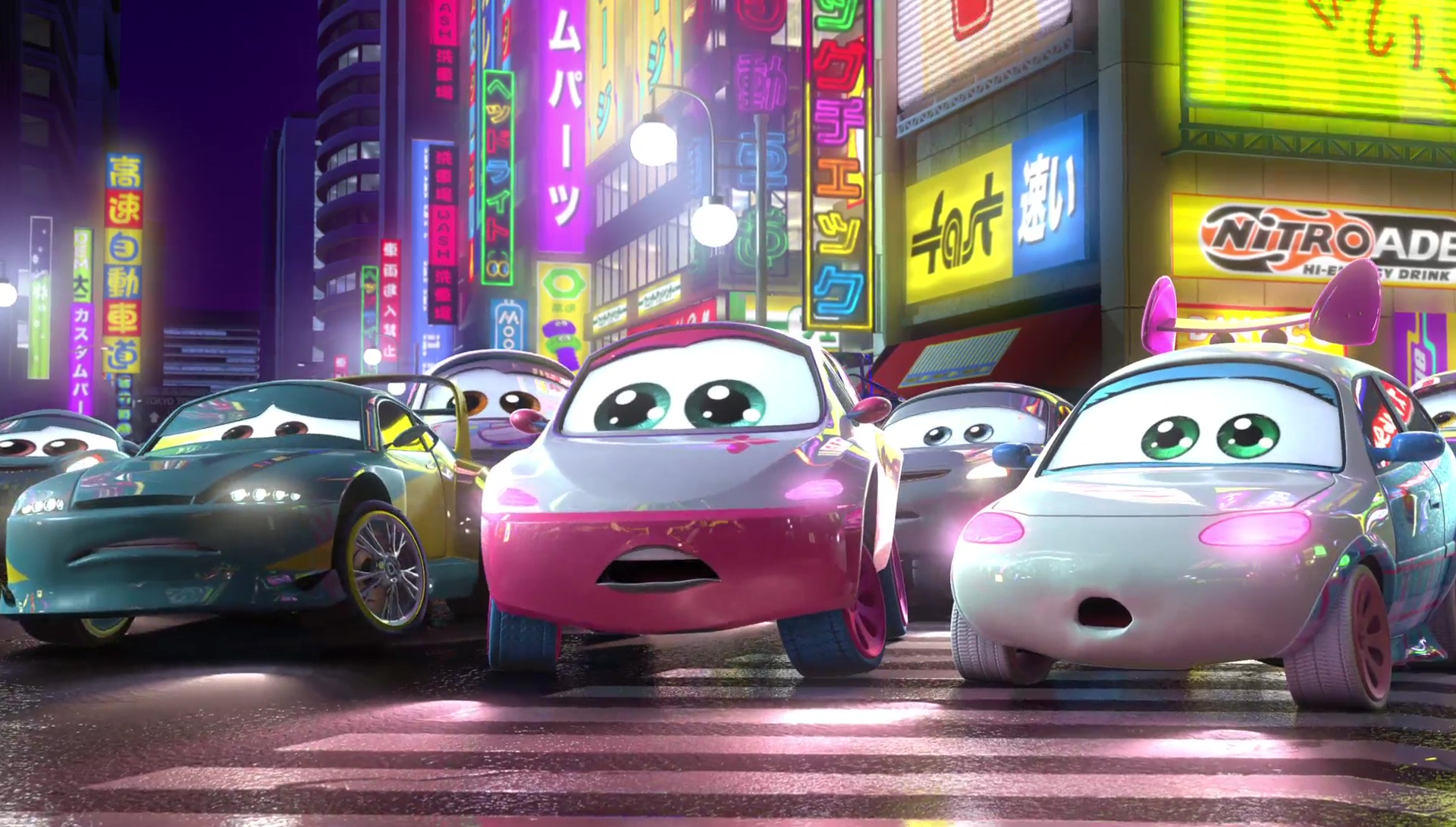 suki personnage character pixar disney cars 2