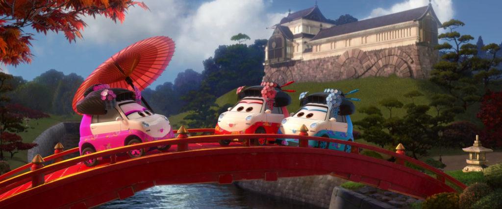 tamiko personnage character pixar disney cars 2