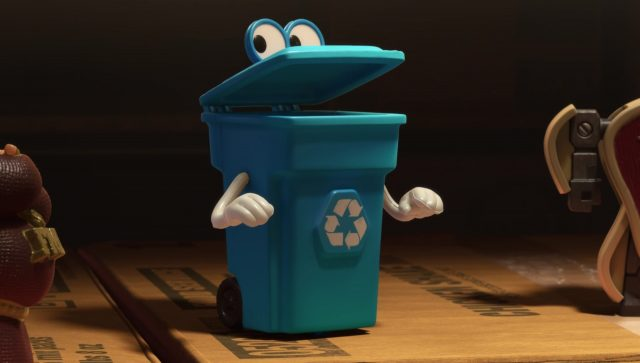 thierry selectif recycle ben  personnage character toy story disney pixar