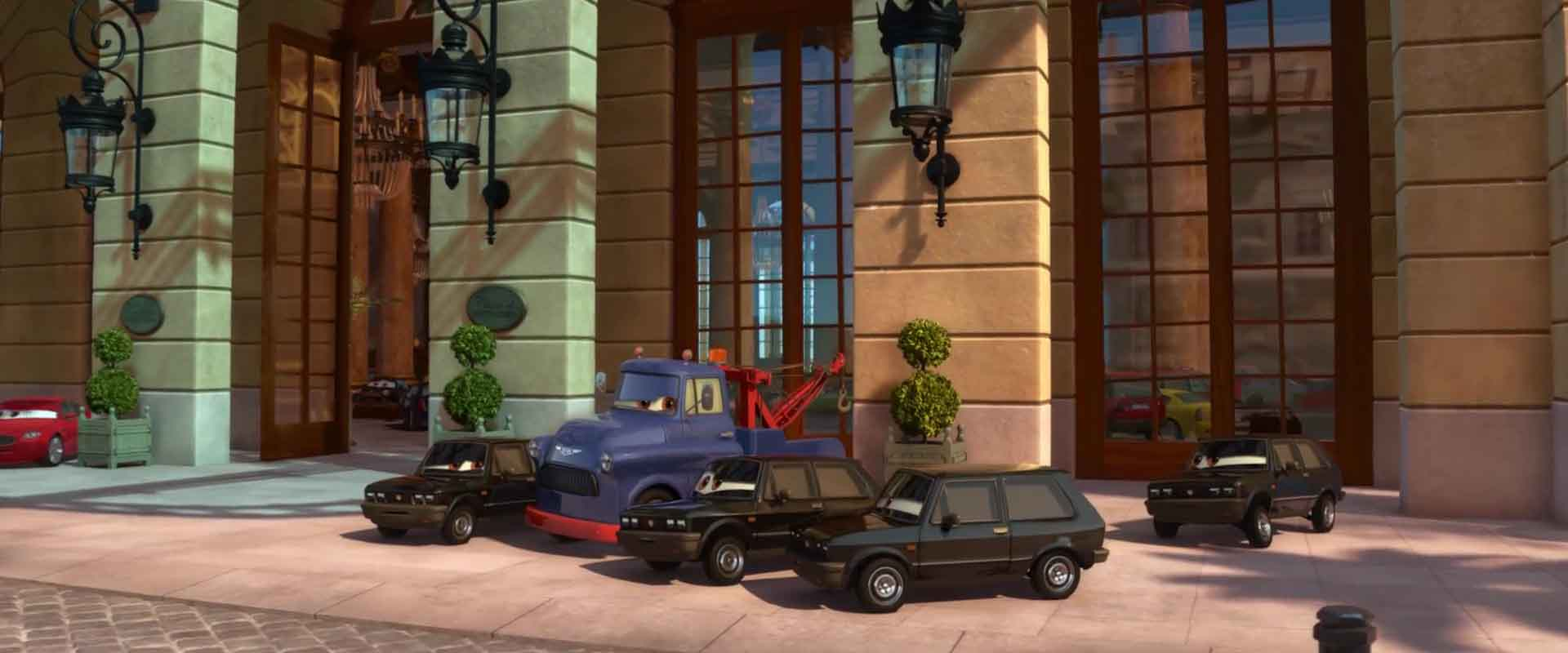 tolga trunkov personnage character pixar disney cars 2