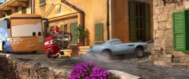 trike feldman personnage character cars disney pixar