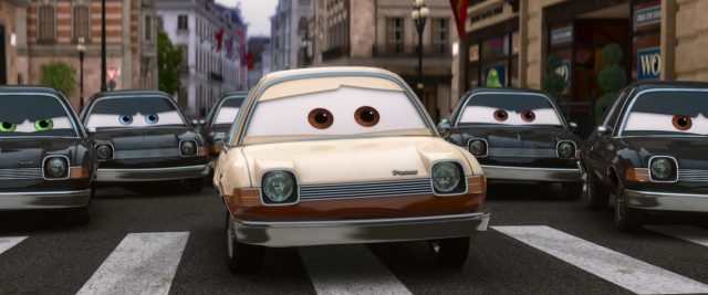 tubbs pacer personnage character cars disney pixar