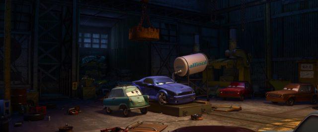tyler gremlin personnage character cars disney pixar