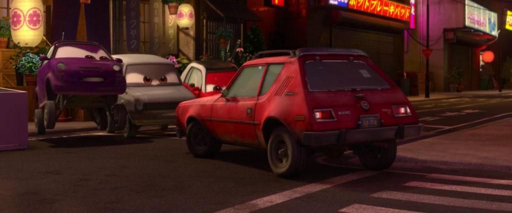 tyler gremlin   personnage character pixar disney cars 2