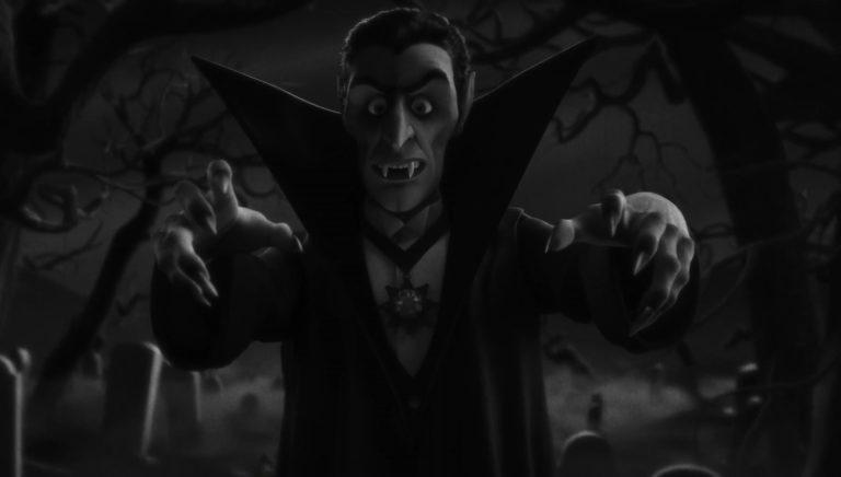 """Le vampire, personnage dans """"Toy Story : Angoisse au motel""""."""
