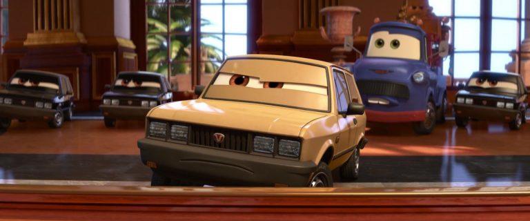 """Victor Hugo, personnage dans """"Cars 2""""."""