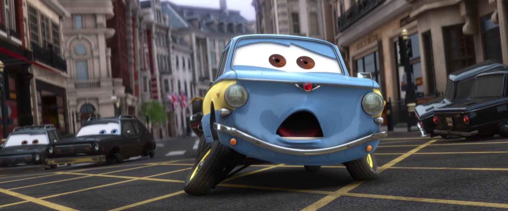 vladimir trunkov personnage character pixar disney cars 2