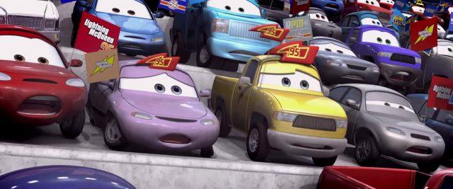 wilmar flattz  personnage character cars disney pixar