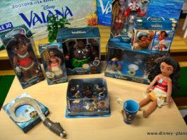 Disney 30 ans disney store vaiana