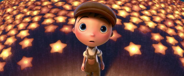 "Bambino, personnage dans ""La Luna""."